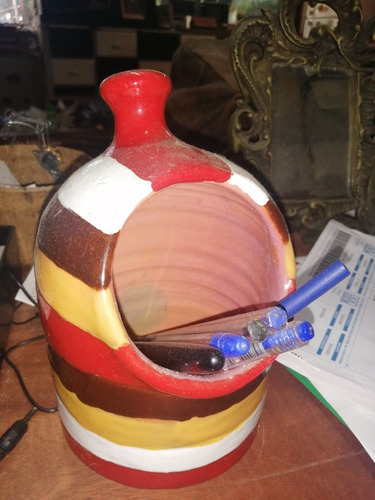 Imagen 1 de 1 de Portalápices De Ceramica