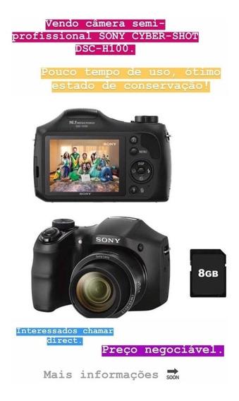 Câmera Sony Cybershot Dsc H100