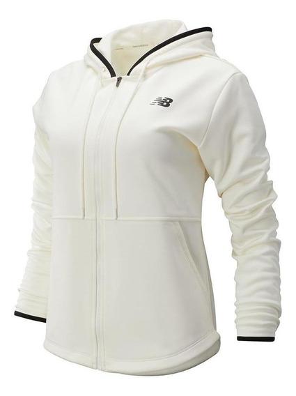 Jaqueta Fleece Feminino Branco