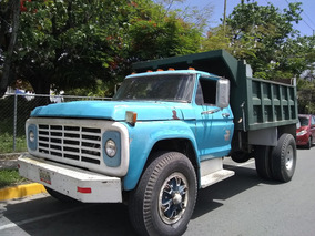 Camion Volteo Ford 750