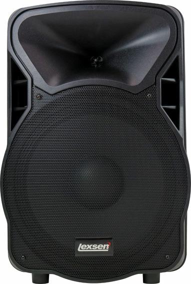 Caixa De Som Amplificada Bluetooth Lexsen Ls15bt Prof Nfe