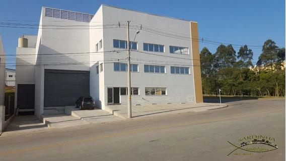 Galpão Para Locação - 910m² - Jd. Portão Vermelho - Vargem Grande Paulista - Sp - Ml1087