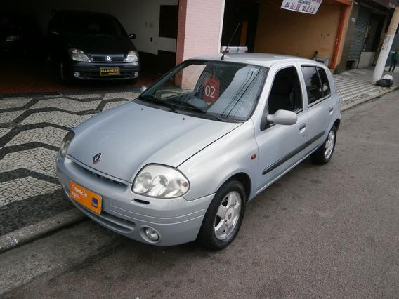 Renault Clio Rn 2002 4 Portas A Gasolina 1.0