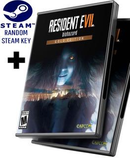 Random Steam Key + Resident Evil 7 Biohazard Edición Oro - Juego Pc Windows + Regalo