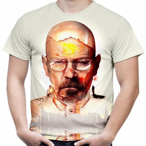 Camiseta Camisa Série Breaking Bad Masculina Estampa Total 3