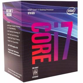 Processador Intel Core I7-8700 3.2ghz/4.6ghz-turbo Lga1151