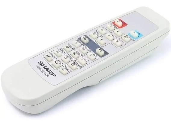 Controle Remoto Para Projetor Sharp Xg-p560w Xv-300 Original