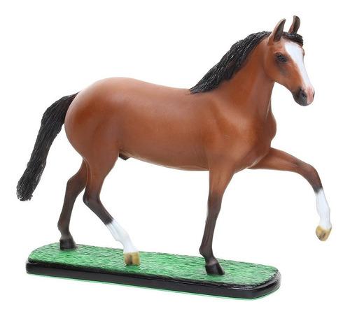 Escultura Em Resina Cavalo Mangalarga Marchador Alazão Home