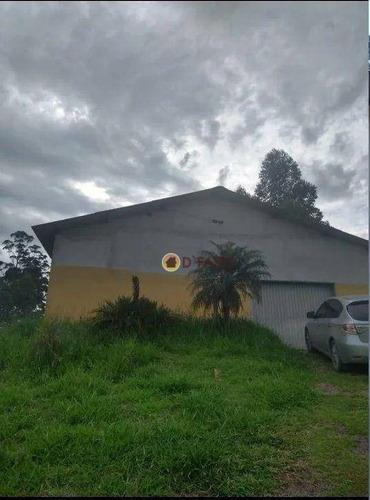 Imagem 1 de 6 de Galpão À Venda, 800 M² Por R$ 580.000,00 - Centro - Santa Isabel/sp - Ga0077