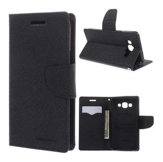 Funda Flip Cover Wallet Para Samsung J5 500 Con Tarjetero