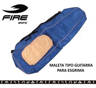 Maleta Tipo Guitarra Para Esgrima Fire Sports