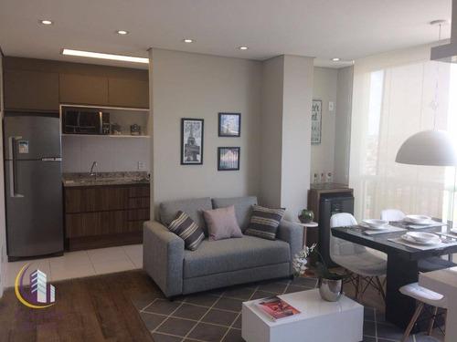 Lindo Apartamento 55 M² Sendo 2 Dormitórios 1 Suíte, Piscina, Churrasqueira, 1 Vaga Livre E Coberta , Quitaúna, Osasco. - Ap0913