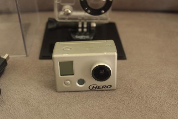Gopro Go Pro Hero1 Capa Acrílica Camera Filmadora Esporte