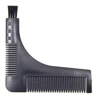Lucydan Accesorios Barbería Peine Escuadra Para Pelo Barba
