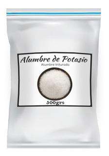 Alumbre De Potasio 100% Natural Uso Cosmetico 500gr Belgrano