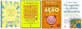 O Poder Da Ação + O Poder Do Hábito + 2 Livros