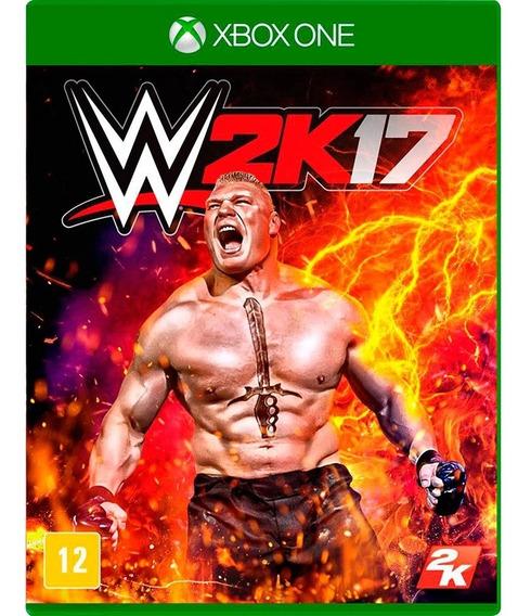 Jogo Xbox One - Wwe 2k17 - Novo - Mídia Física