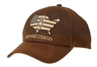 Gorra Browning Country Wax Baseball Transpirable Caza