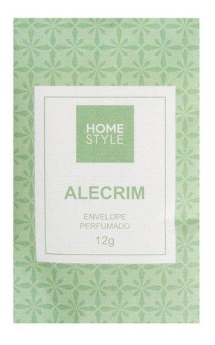 Aromatizador Envelope Alecrim 12 G - Home Style