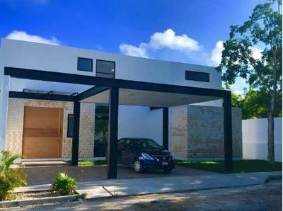 Residencia En Privada Azulejos Temozón