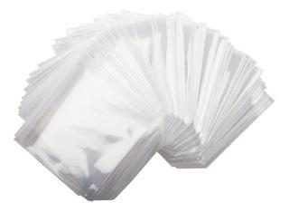 Cubierta De Dvd,cd O Bluray Bolsa De Plástico Solapa 100unid