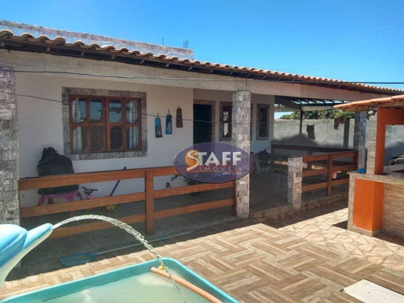 Casa Com 3 Dormitórios À Venda, 250 M² Por R$ 200.000 - Unamar - Cabo Frio/rj - Ca1121