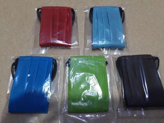 Cubre Bocas, Lavable, 2 Capas. Diferentes Colores