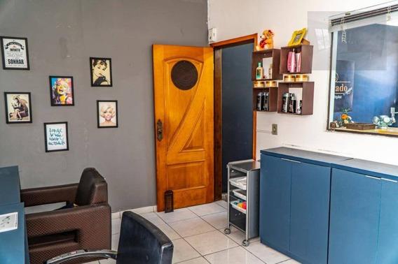 Sobrado Com 3 Dormitórios À Venda, 147 M² Por R$ 350.000,00 - Parque São Vicente - Mauá/sp - So0435