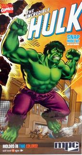 Increible Hulk Para Armar Snap Kit 1/8 Mpc Marvel