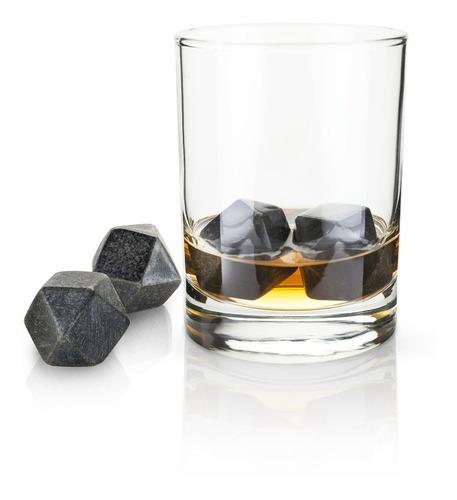 Imagen 1 de 2 de Piedras Para Whisky Hexagonales Marca Viski