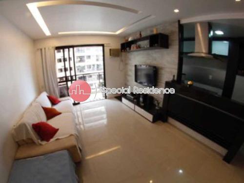 Imagem 1 de 15 de Apartamento-à Venda-barra Da Tijuca-rio De Janeiro - 100147