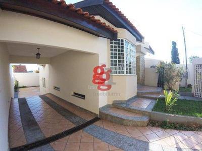 Casa Com 3 Dormitórios À Venda, 234 M² Por R$ 850.000 - Lago Parque - Londrina/pr - Ca0007