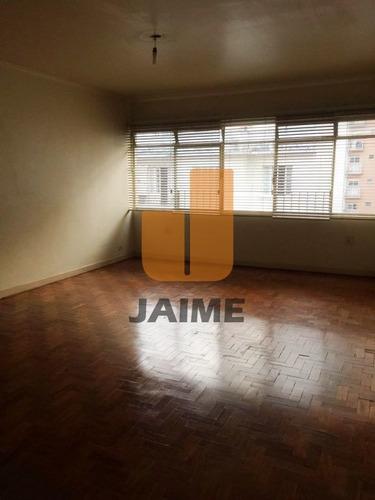 Apartamento Para Venda No Bairro Higienópolis Em São Paulo - Cod: Ja8628 - Ja8628