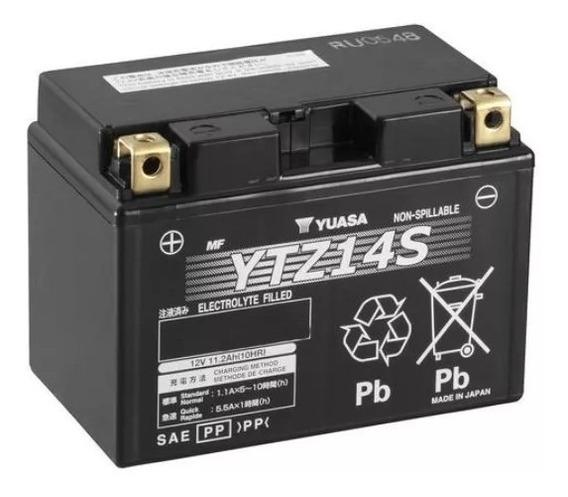 Bateria Yuasa Ytz14s Transalp Nc750x Shadow 750 Yamaha V Max