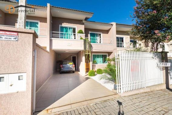 Sobrado Com 3 Dormitórios À Venda, 130 M² Por R$ 450.000 - Centro - Campo Largo/pr - So0111