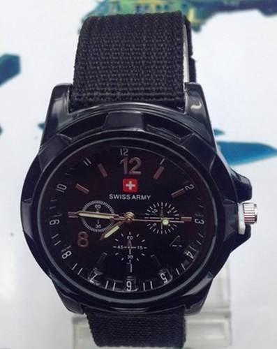 Relógio Militar Swiss Army Preto