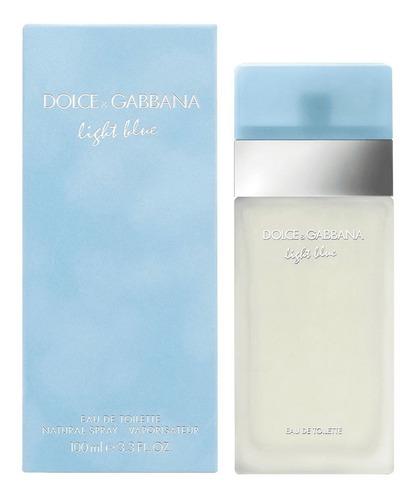 Perfume Dolce & Gabbana Light Blue Edt 100ml. Original