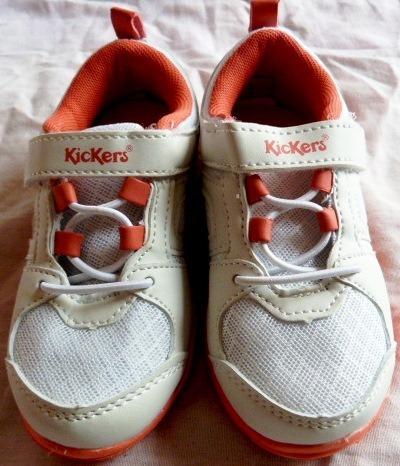 Zapatillas Kickers Nro 25 Nena Con Doble Plantilla