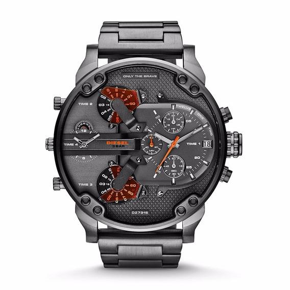 Relógio Diesel Mr Daddy Dz7315 - Original Com Certificado