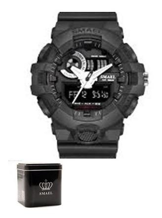 Relógio Masculino Smael Esportivo Original Barato