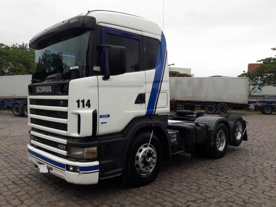 Scania 124 420 6x2 2001 Volvo/mb/iveco/vw/ford