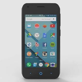Celular Zte L110 Dual Sim 3g Preto C/2 Capas Extras