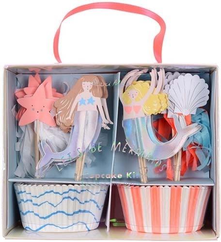 Cupcakes Sirenas Meri Meri Party