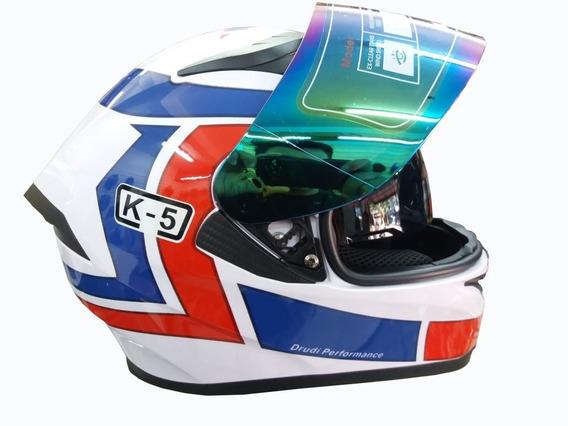Kit Capacete Valentino Rossi