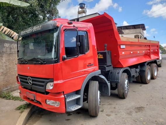 Mercedes-benz 2428 8x2 Ano 2011/2012 Caçamba Basílio