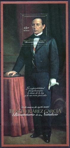 Imagen 1 de 1 de México 2006 : Bicentenario Natalicio De Benito Juarez