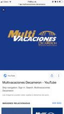 Vendo Membresía Multivacaciones Decameron!