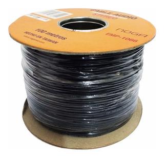 Cable Audio Video Rca Rollo X 100 Mts Paralelo Mallado Cobre