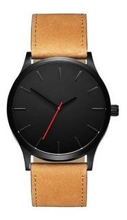 Reloj De Hombre Elegante Negro / Marron Oferta!