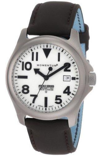 Momentum 1m-sp00w12c Atlas Reloj De Hombre Con Esfera Blanca